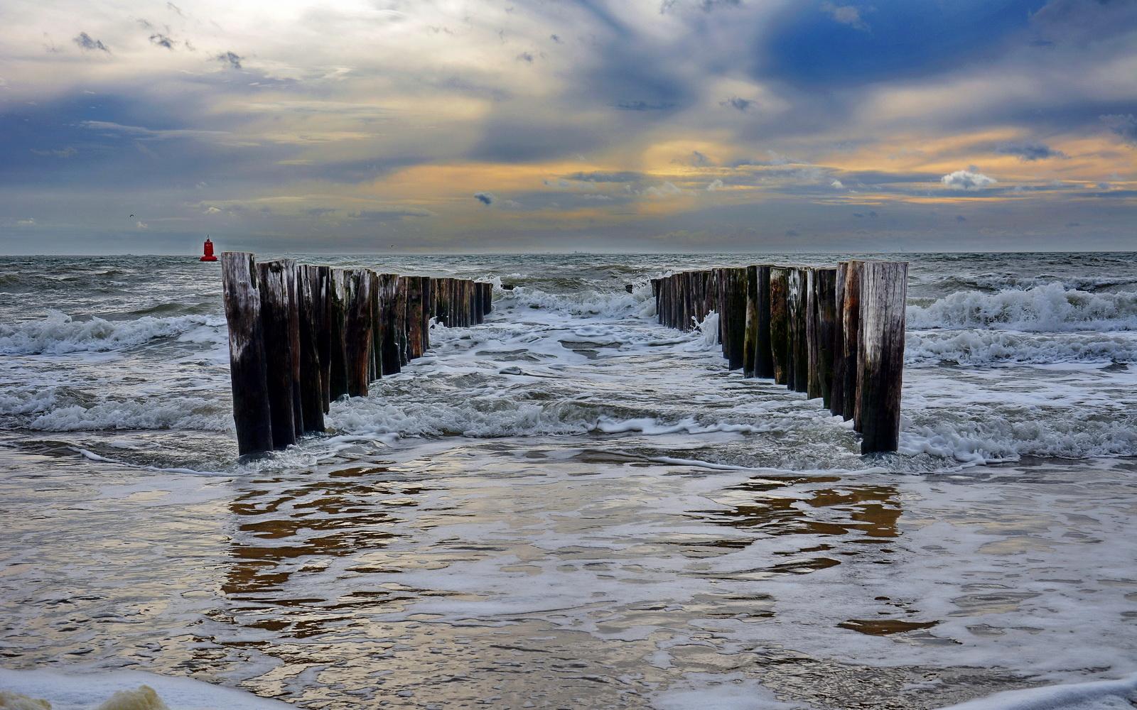 An der Nordsee