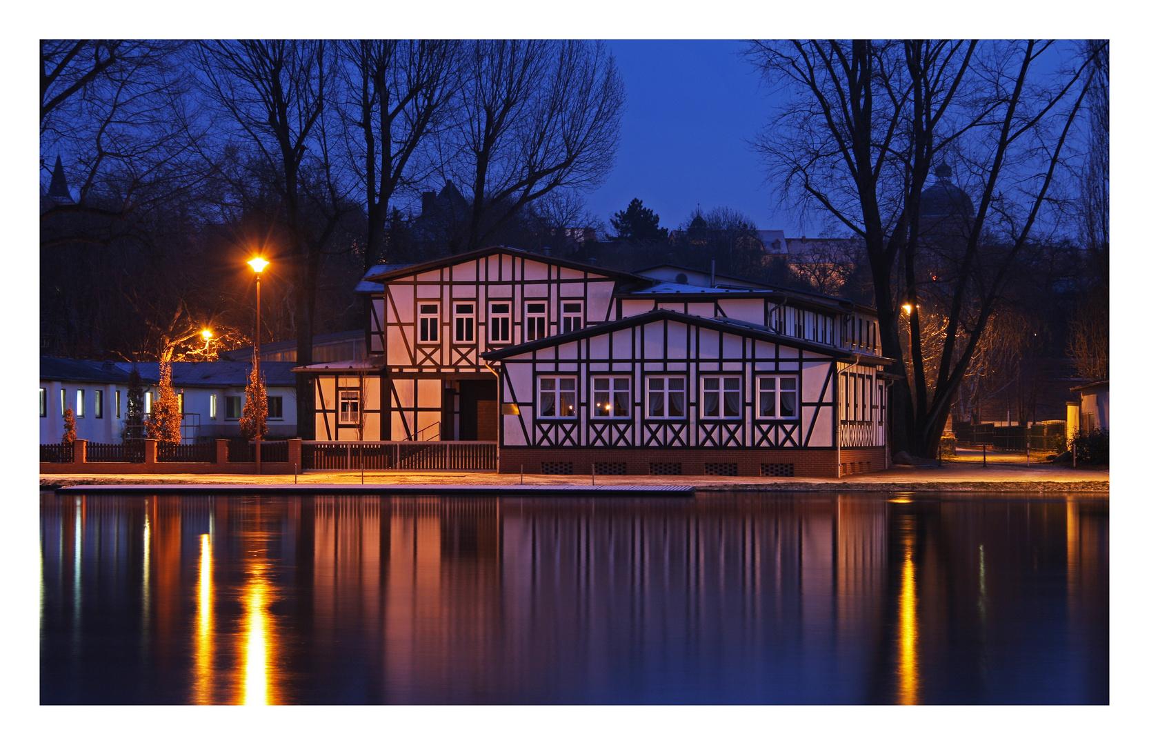 An der Saale in Bernburg