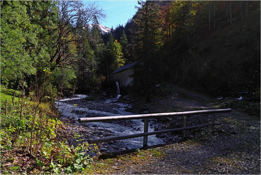 An der Säge im Dietersbachtal