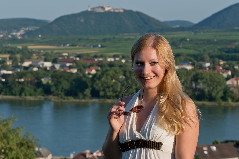 An der schönen blauen Donau....