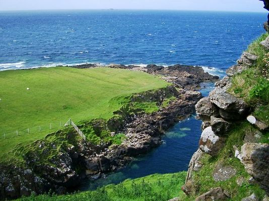 An der schottischen Küste