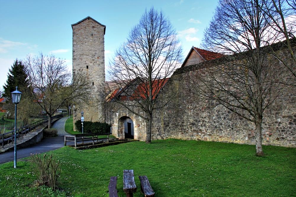 An der Stadtmauer (3)