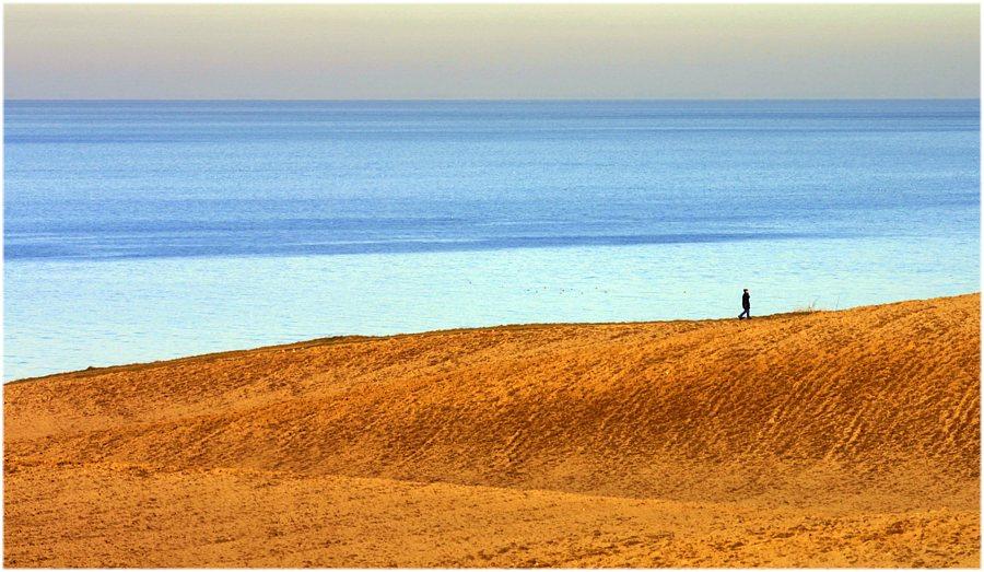 an der Steilküste der Ostsee