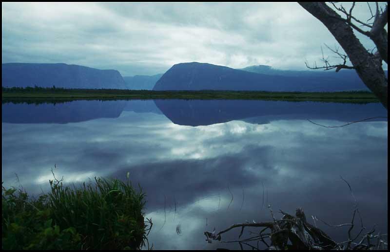 An der Western Brook Pond, Gros Morne National Park (Neufundland)
