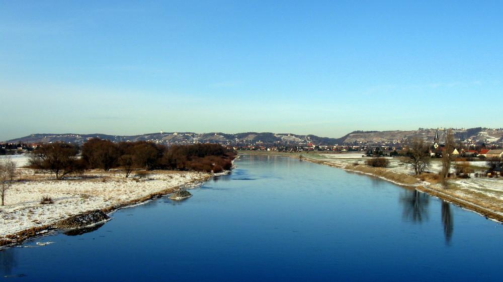 An des Flusses blauen Bande