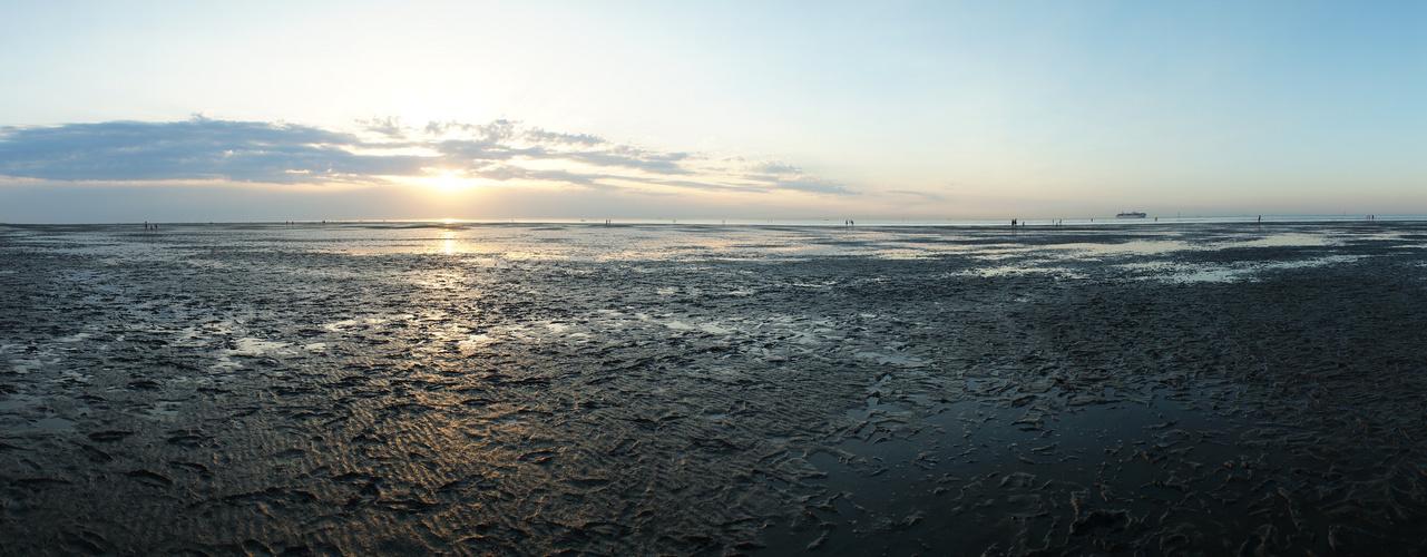 An die Nordseeküste