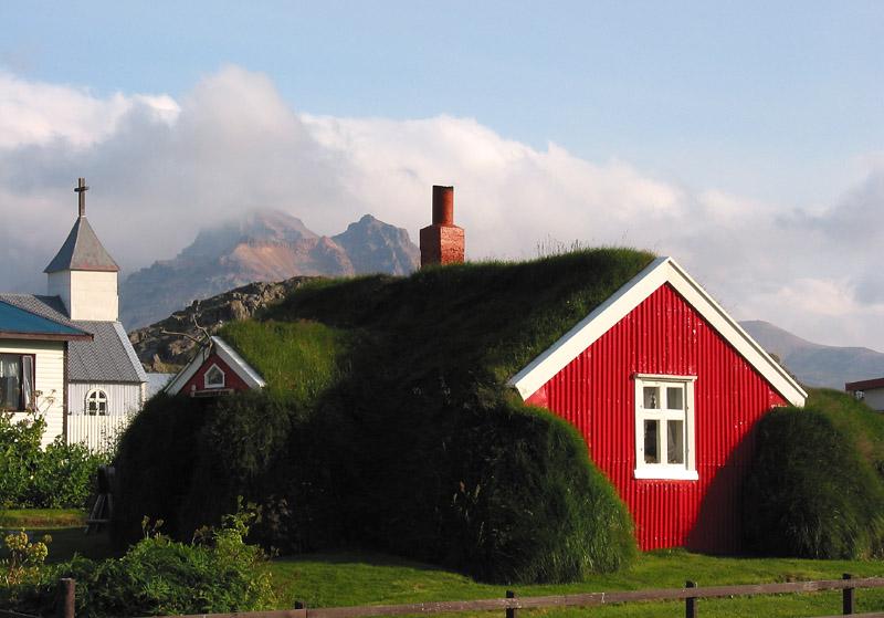 An einem abgelegenen islaendischen Fjord...
