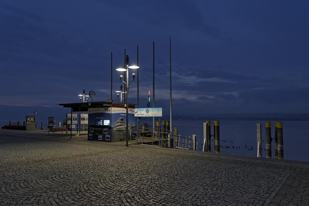 ...an einem Dezembermorgen am Bodensee...
