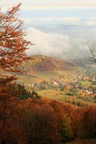 An einem Herbsttag von der kleinen Lausche.....