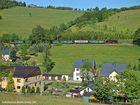 An einem Sonntag im Mai an der Fichtelbergbahn