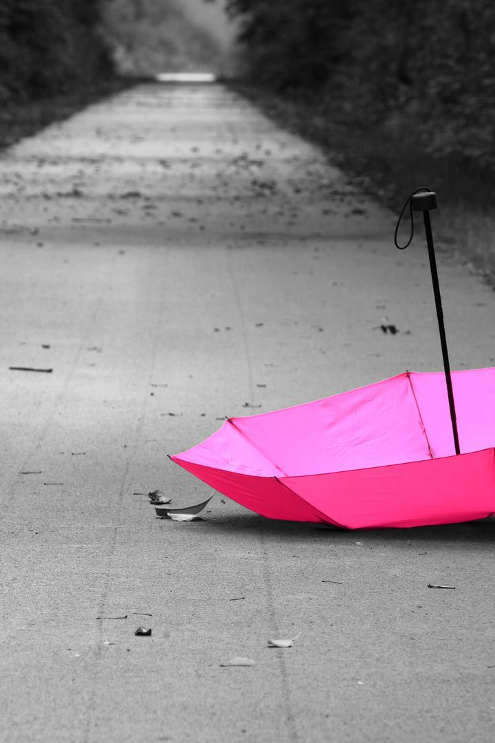 An einem trüben Tag hilft manchmal ein wenig pink.