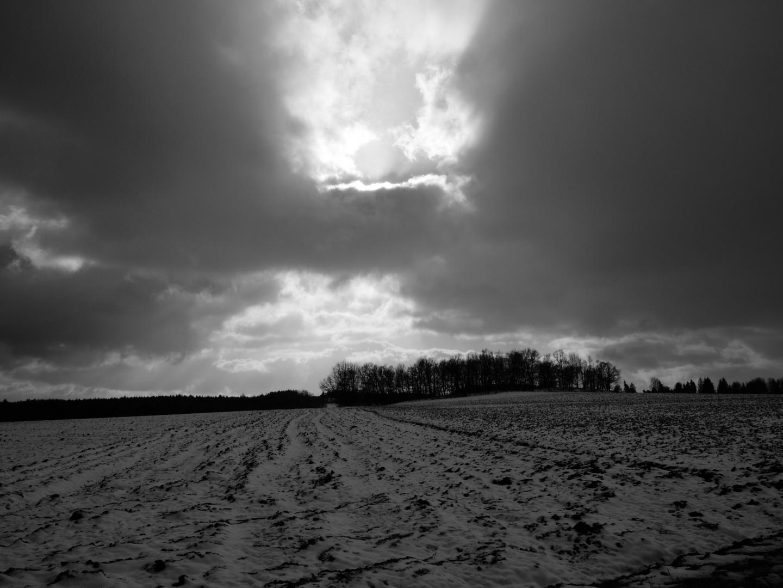 An einem Wintertag