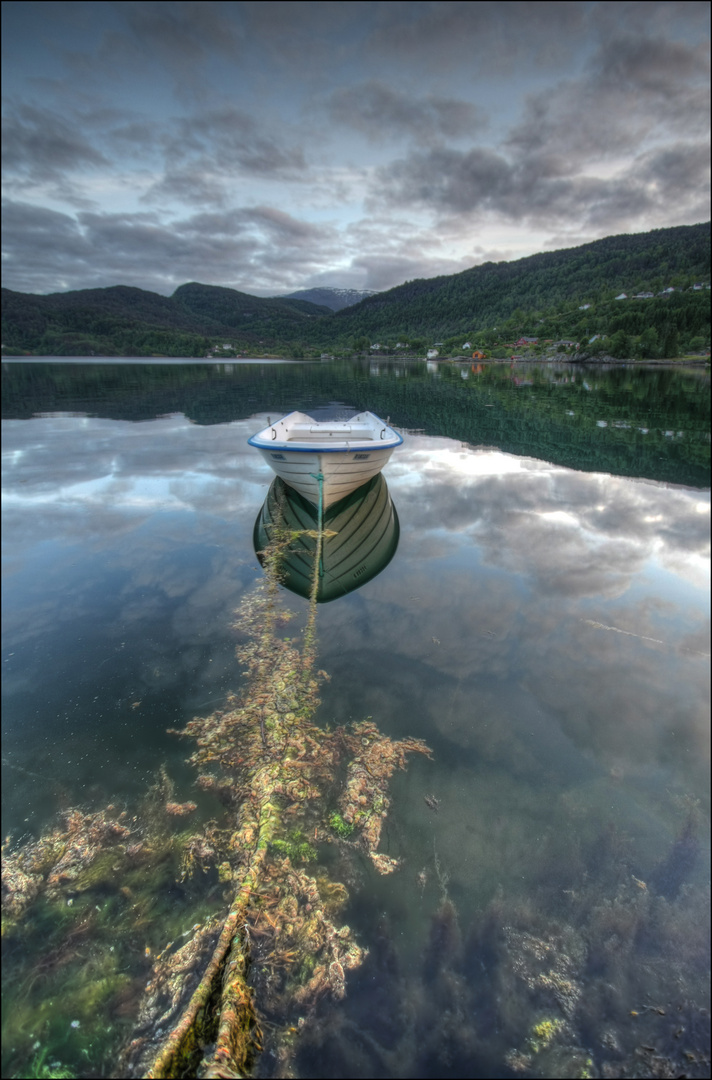 an einen schönen Fjord............