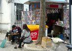 An einer Straßenecke in Hefei (2)