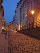an evening, Prague