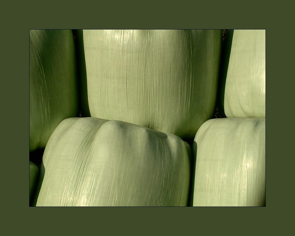 An grüne Marshmallows