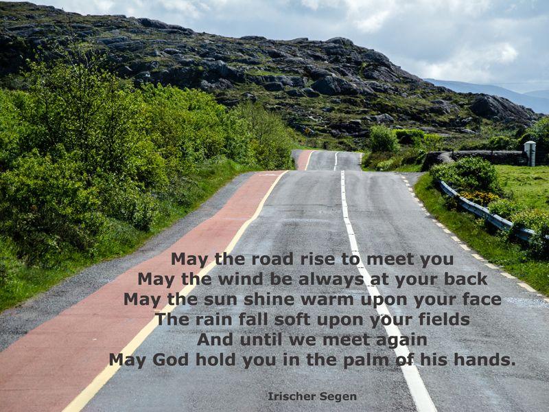 An Irish Blessing - to all friends