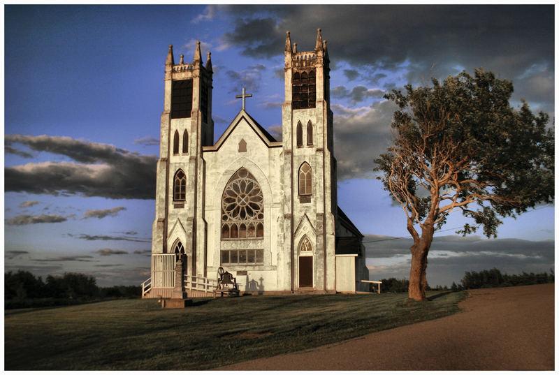 An Old Church in Cape Breton