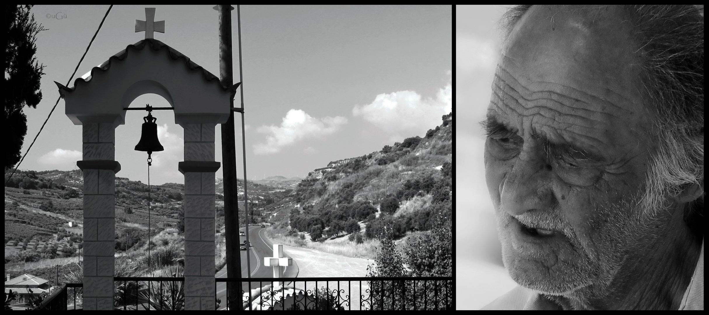 an old Crete man