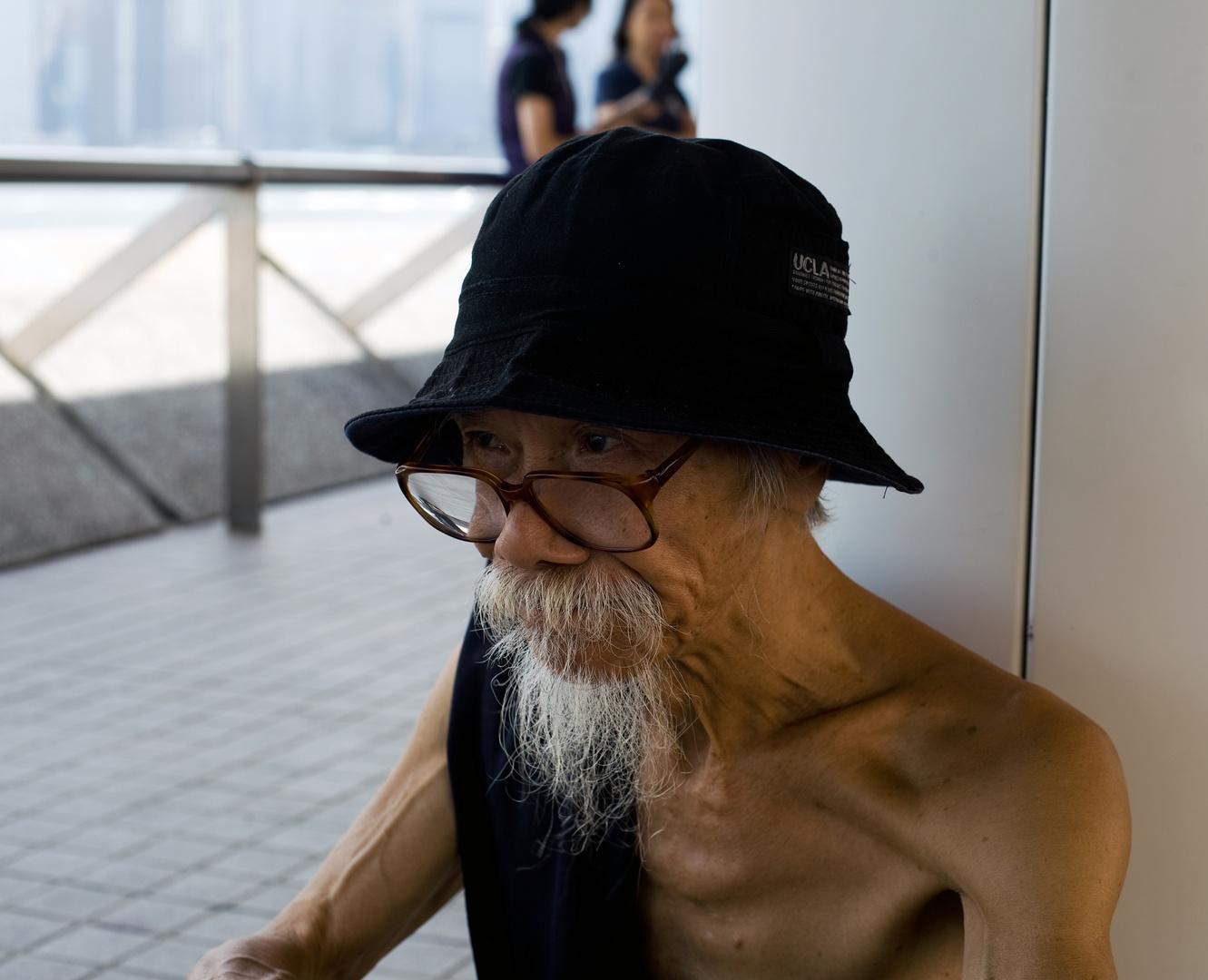 An old man from Hongkong