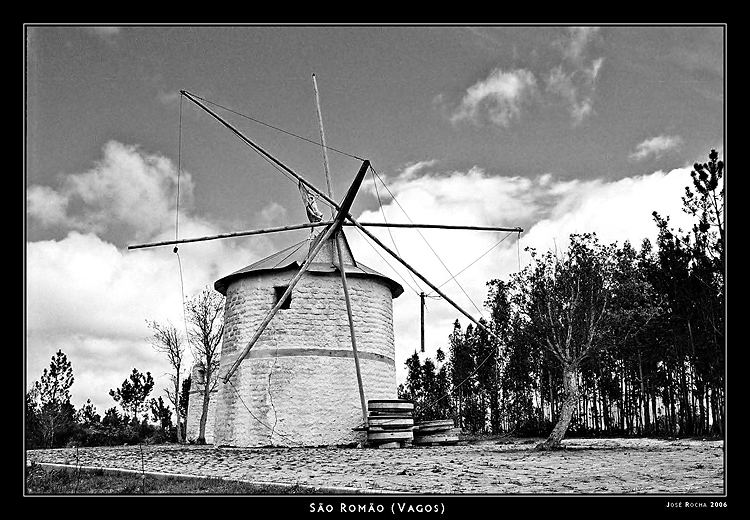 An old windmill