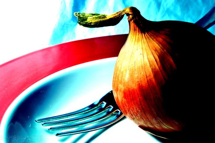 An onion for dinner