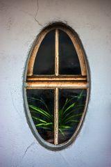 an oval window