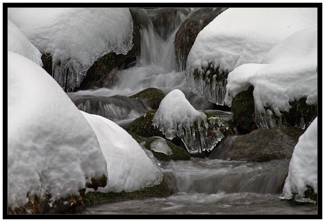An wilden Wasser...