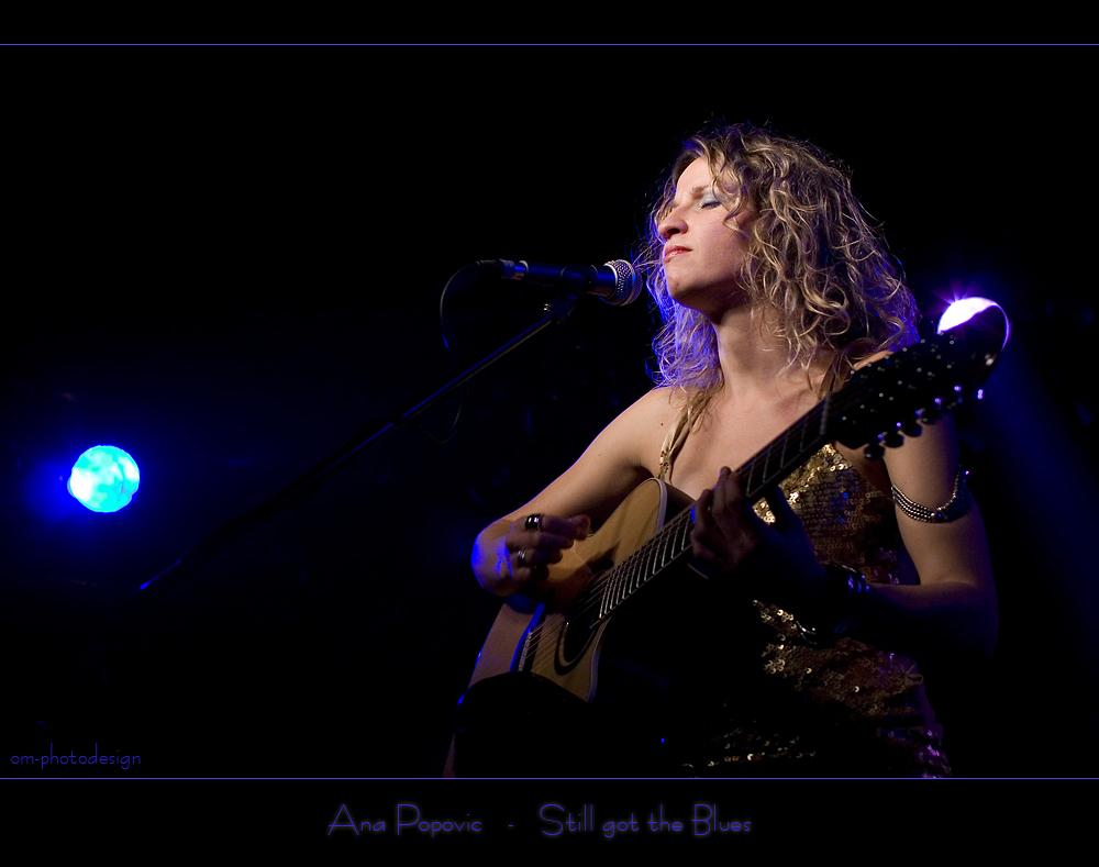 Ana Popovic - Still got the Blues