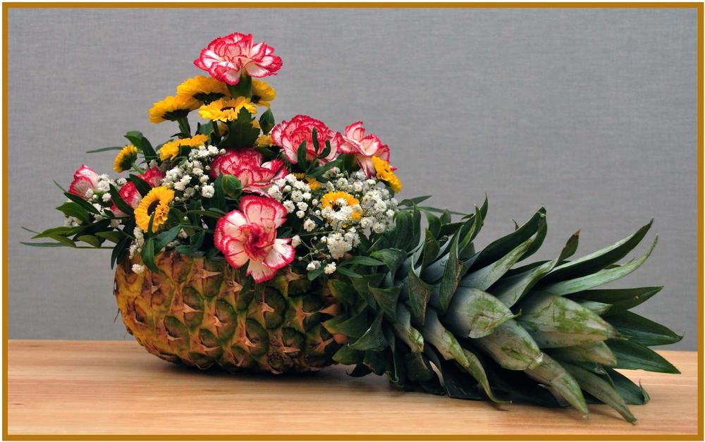 Ananas als blumentopf foto bild sonstiges naturkunst for Blumentopf gestalten