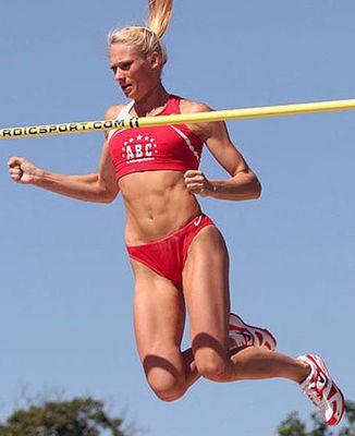 Anastasija Reiberger will 2008 wieder hoch hinaus