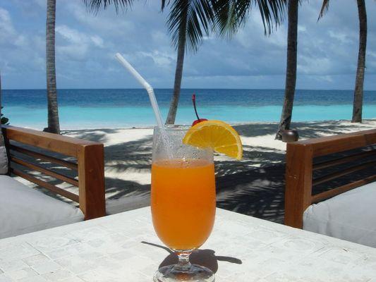 ANBA Bar, Mirihi Island, Maldives