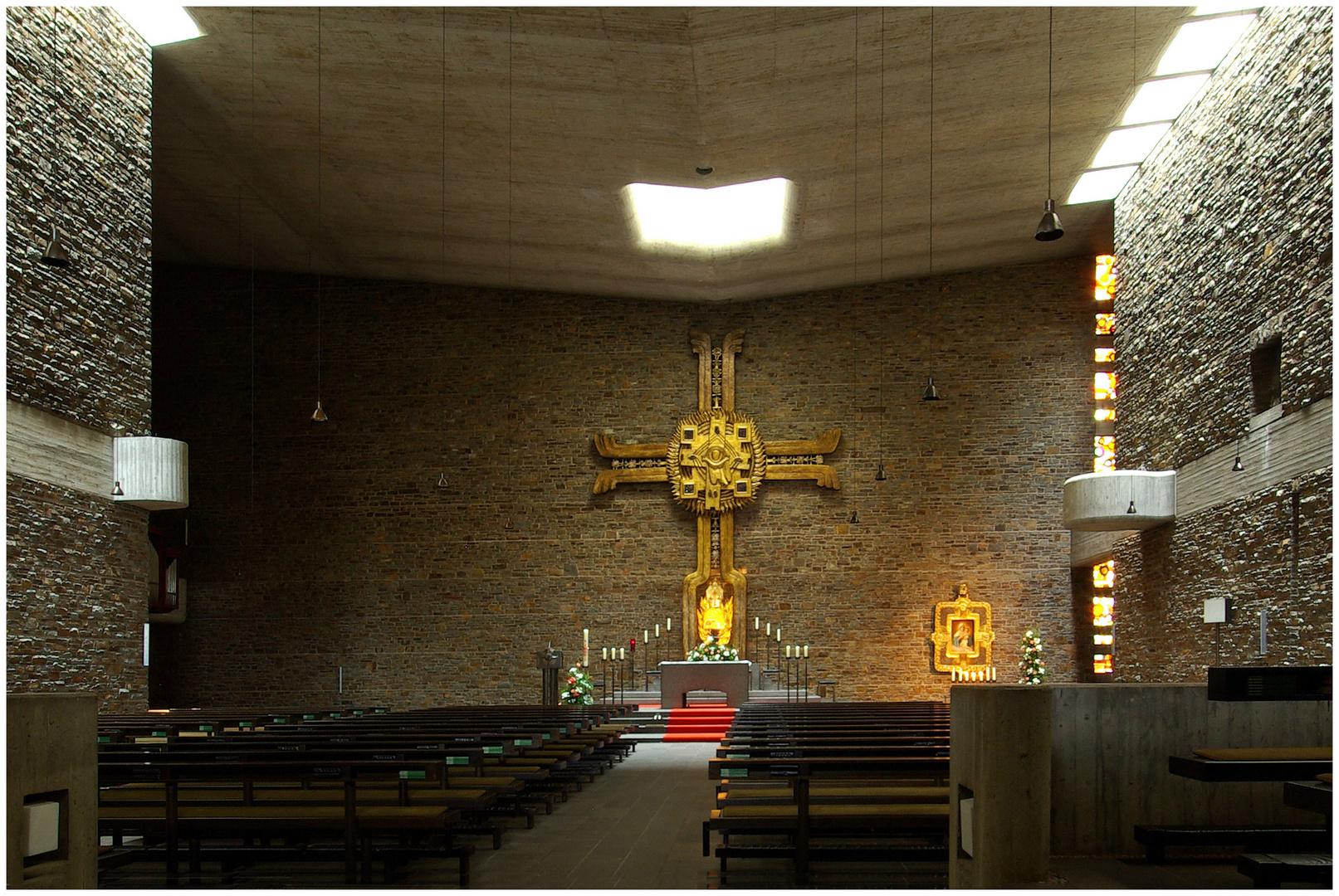Anbetungskirche der Schönstätter Marienschwestern in Vallendar (3)