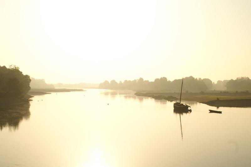 Ancenis (44) au lever du soleil