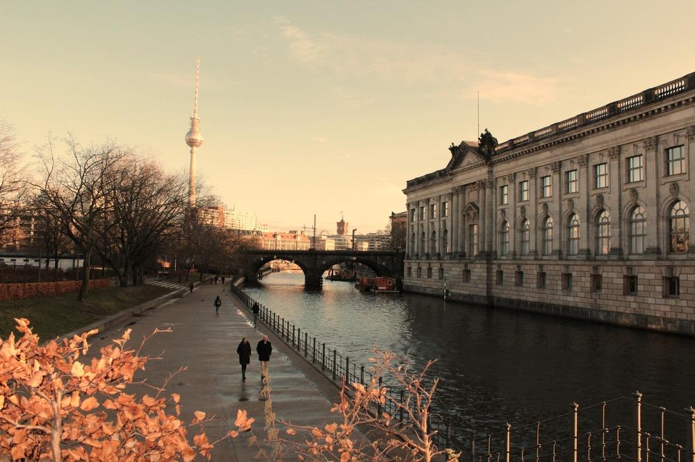 Anche a Berlino un po' di sole!