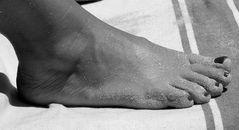 ....anche i piedi parlano...
