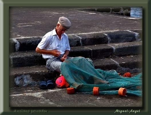 Anciano pescador