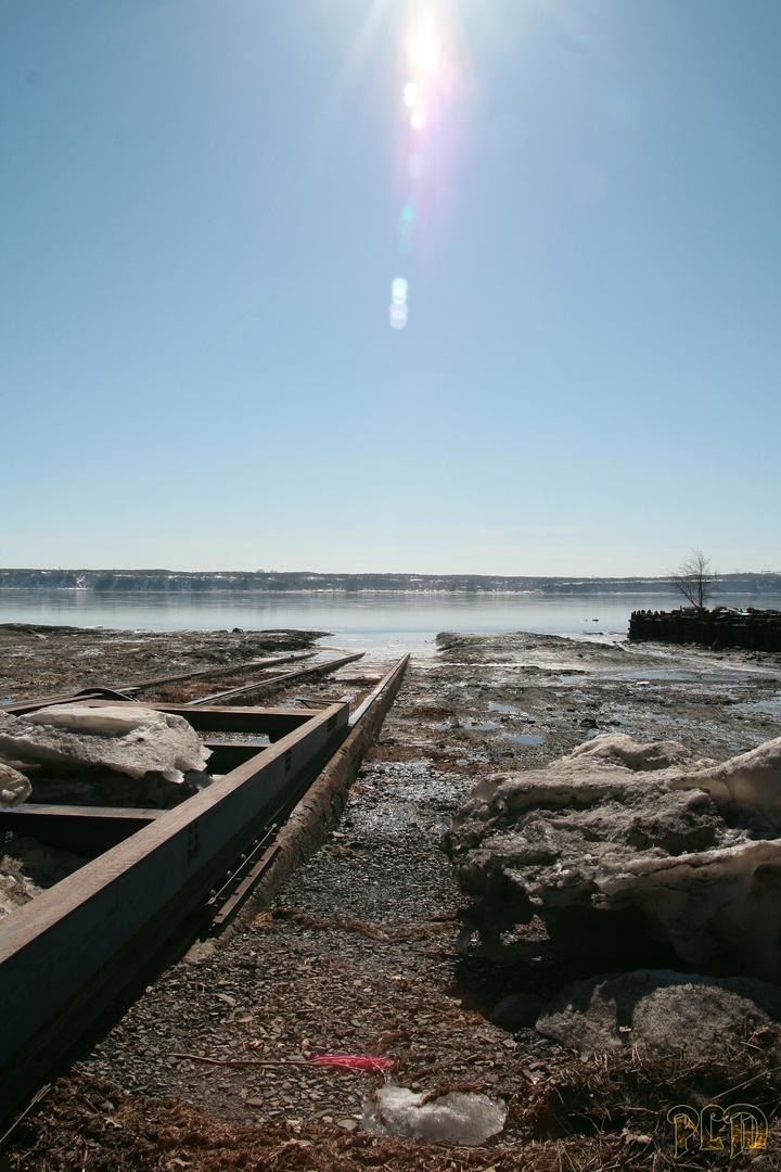 Ancien chantier naval St Laurent - Ile d'Orléans Québec