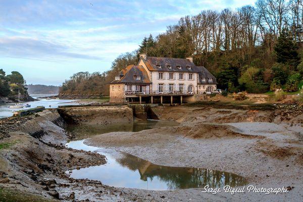 Ancien Moulin en bord de Rance