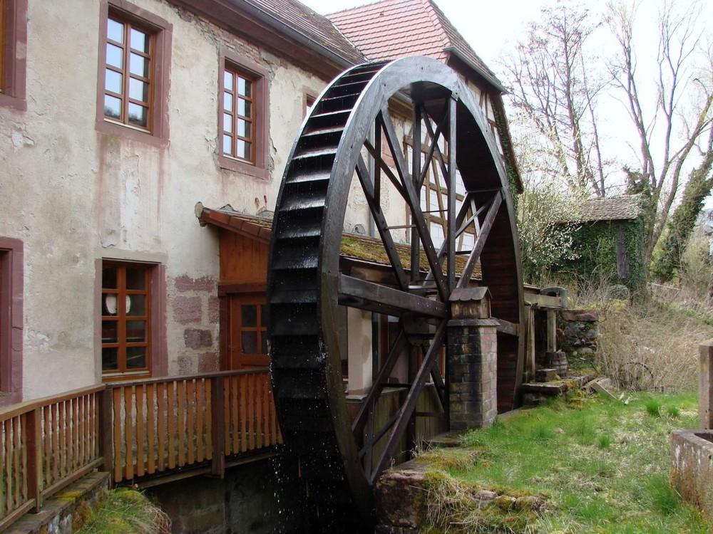 Ancienne roue de la fortune.....