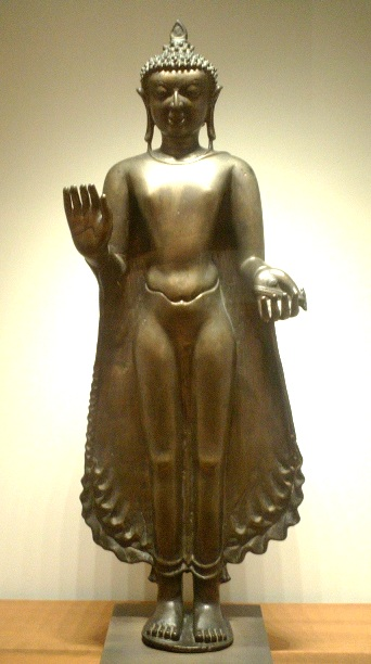 Ancient Standing Buddha in Pagan