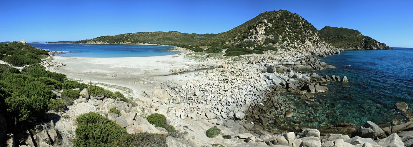 ancora una bella spiaggia ....