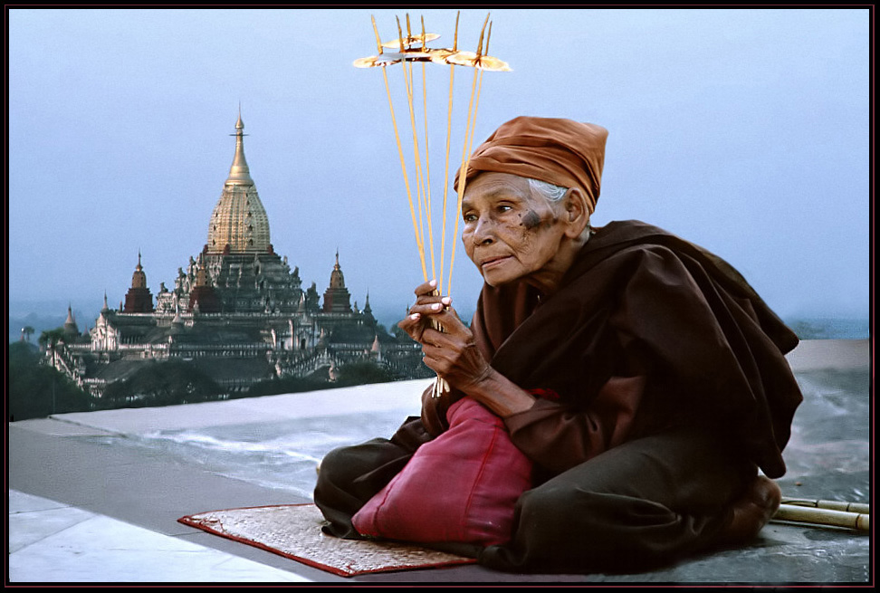 Andacht in Burma