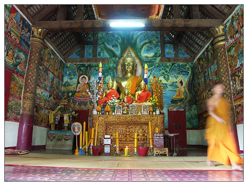 Andacht - Luang Prabang, Laos