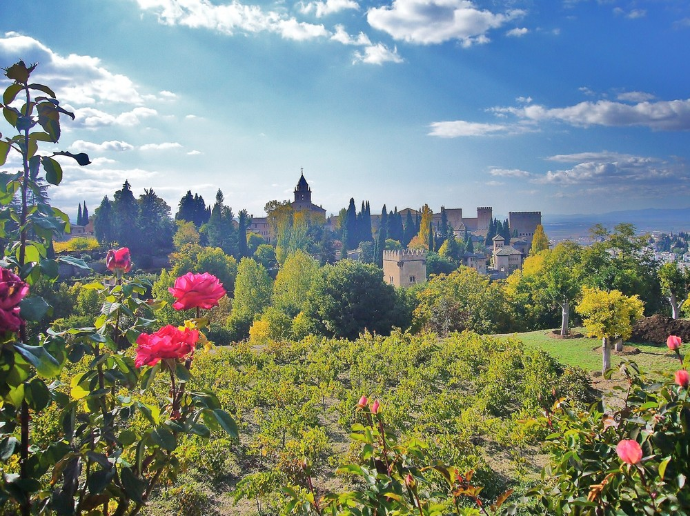 Andalusien - Generalife / Alhambra