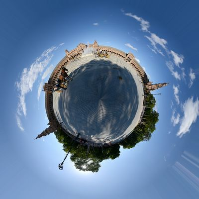 Andalusien - Impressionen ...6 - Sevilla Plaze de Espana