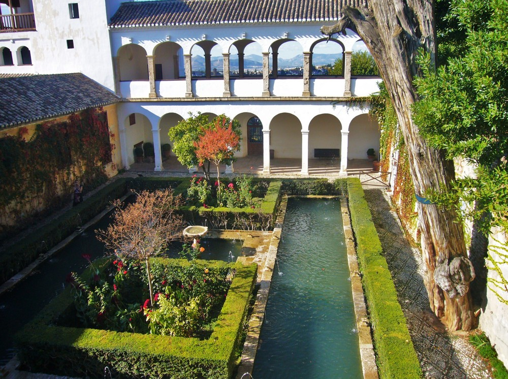 Andalusien - Palacio Generalife , Alhambra