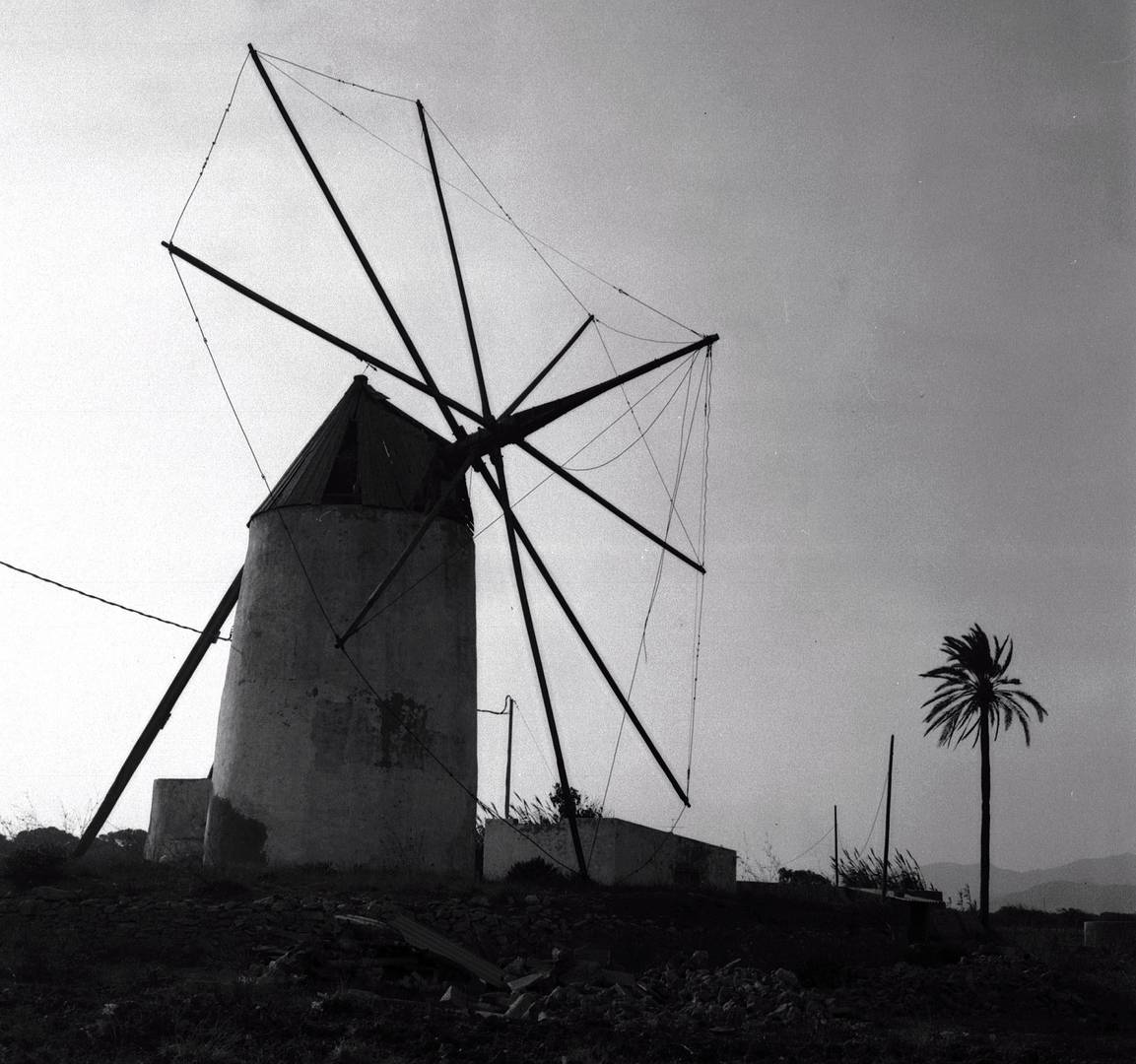 Andalusien, Windmühle 1980