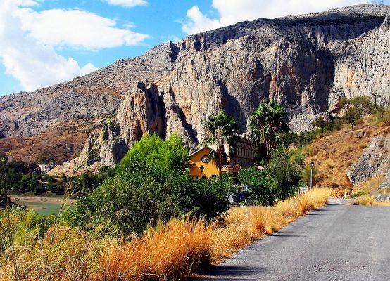 Andalusische Berglandschaft