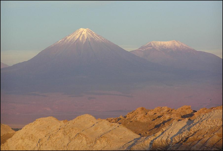 Andenglühen in der Atacama